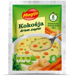 Kokošja krem supa
