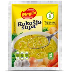 Kokošja supa
