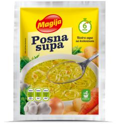 Posna bistra supa